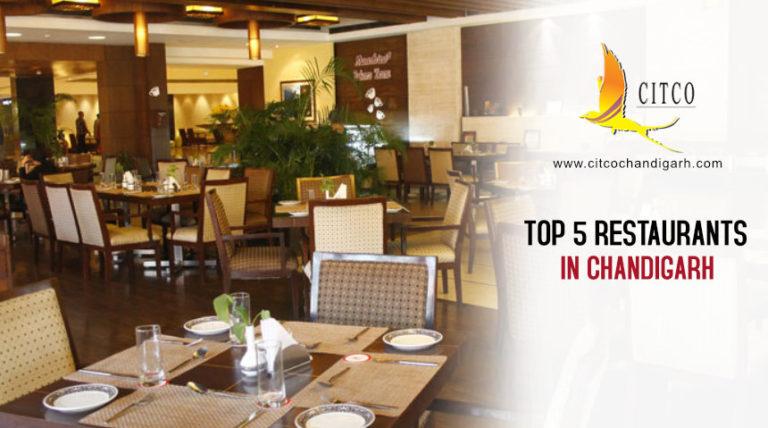 Top 5 restaurants in Chandigarh